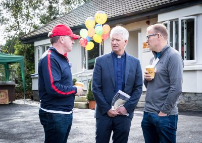 Hugh O'Donnell, Fr Tom Mangan and Joe Looby